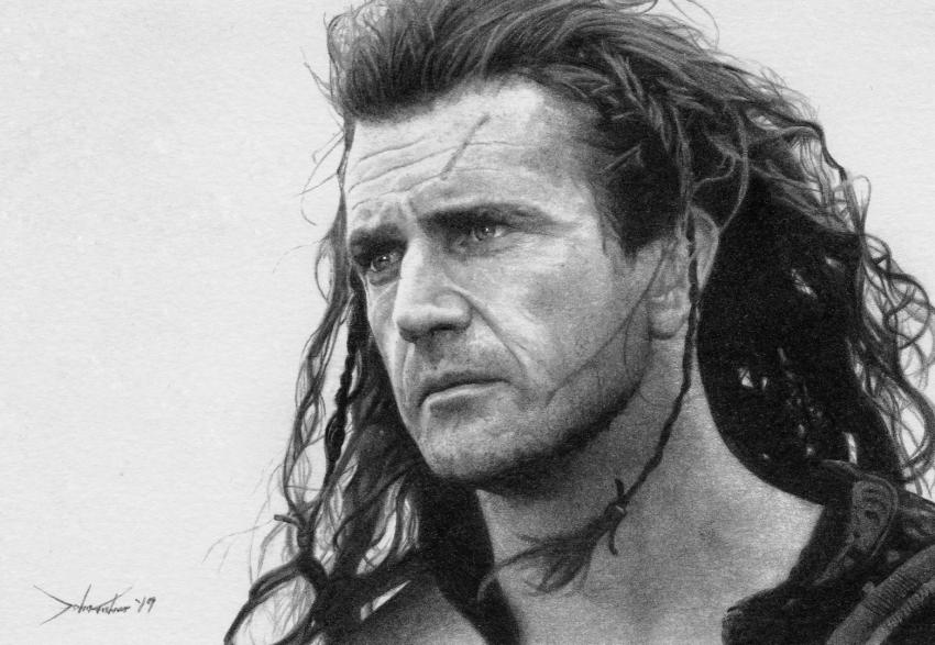 Mel Gibson by JohnFisherArt